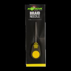Игла для бойлов Korda Fine Latch Needle Yellow Handle