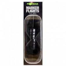 Запасной хвостовик для маркерного поплавка Korda Spare Marker Flights Black