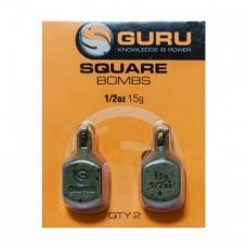 Груз Guru Square Pear Bomb 15гр