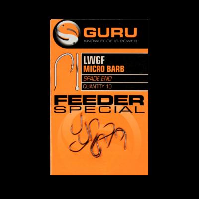 Крючок Guru LWGF Feeder Special Barbed №10 с микробородкой