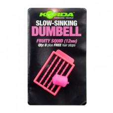 Имитационная приманка Korda Dumbell Slow Sinking Fruity Squid 12 mm