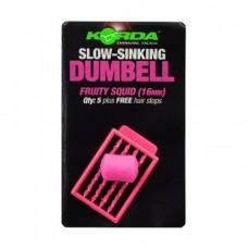 Имитационная приманка Korda Dumbell Slow Sinking Fruity Squid 16 mm