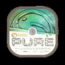 Леска флюорокарбоновая Guru Pure Fluorocarbon 0,25мм 50м
