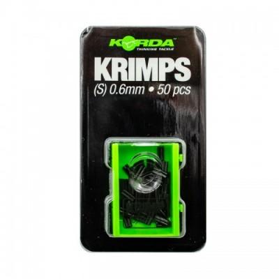 Трубки обжимные Korda Spare Krimps 0.6мм