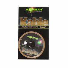 Лидкор Korda Kable Leadcore Gravel 7м 50lb