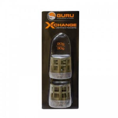 Кормушка Guru X-Change Distance Feeder Cage Extra Small 20гр + 30гр
