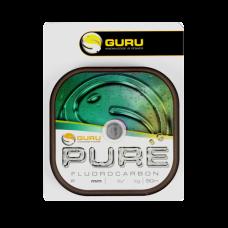 Леска флюорокарбоновая Guru Pure Fluorocarbon 0,08мм 50м